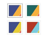 Annuity template - Multicolor scheme
