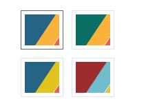TransVision template - Multicolor scheme